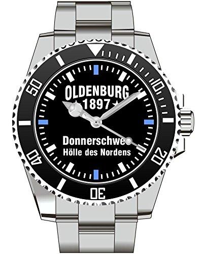 Oldenburg Geschenk Fan Artikel Zubehör Fanartikel Uhr 2554
