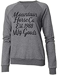 7e439cbf7425 Mountain Horse Street Womens Glitter Round Neck Winter Warm New Jumper  Sweater
