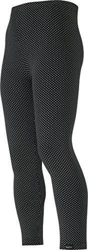 Playshoes Mädchen Legging lang mit Punkten, (schwarz 20), (Herstellergröße: 86)
