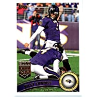 2011 Topps Football Card # 65 Billy Cundiff - Baltimore Ravens - NFL Trading Card