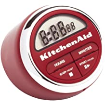 KitchenAid Classic – Temporizador digital (rojo)