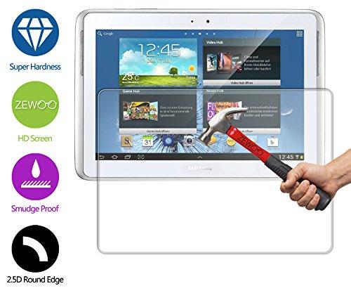 vetro tablet 10.1 ZeWoo Pellicola Protettiva in Vetro Temperato per Samsung Galaxy Note 10.1 GT-N8000 GT-N8010 (2012 Edition) 9H *2.5D con spessore di 0