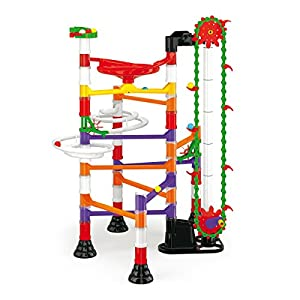Quercetti 6576 Juguete de construcción - Juguetes de construcción (Circuito de canicas,, 5 año(s), 150 Pieza(s), Niño/niña, Niños)