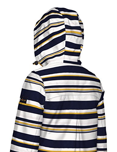 Joules Damen Mantel Haven Multicoloured (Multi Stripe)