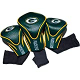NFL 3 Pack Contour Head Covers, unisex, Green Bay Packers, Einheitsgröße