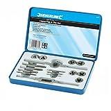 Silverline, Kit per filettatura professionale, 16 pz. - 823533