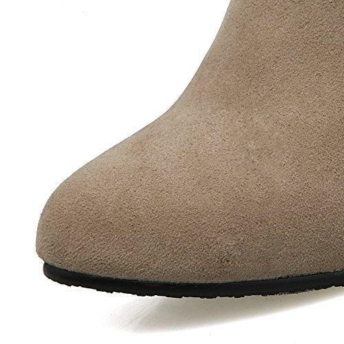 BalaMasa Abl09963, Sandales Compensées femme Beige