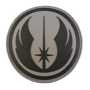 Star Wars Jedi Order Knight PVC Gomme 3D Velcro Écusson Patch