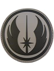 Star Wars Jedi Order Knight PVC Gomme 3D Fastener Écusson Patch