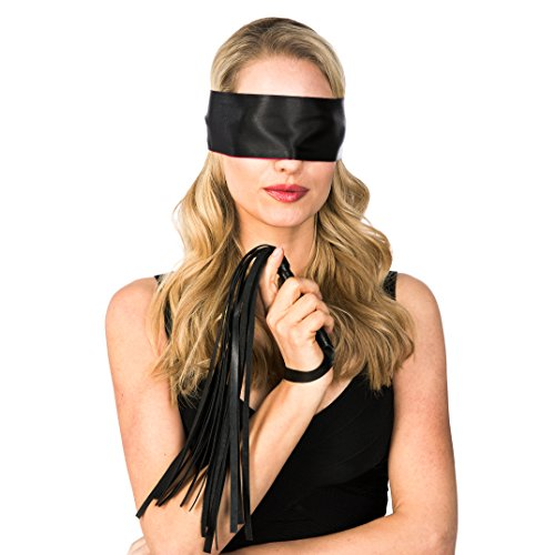 r Paare - Flogger Peitsche und Erotik Augenmaske - BDSM Spielzeug und Erotik Set für Paare - Mehr Spaß im Bett (Spaß Für Paare)