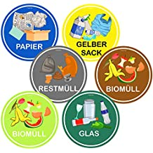 Suchergebnis Auf Amazonde Für Aufkleber Mülltrennung