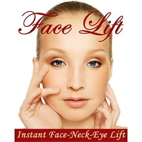 NEW INSTANT FACELIFT AND NECKLIFT FACE NECK LIFT KIT TAPES ANTI AGEING STRIPS (Dark Hair) - Instant Lift
