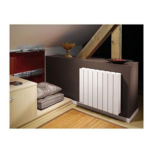 radiateur à inertie - applimo pegase 2 - 750w - horizontal - blanc