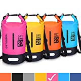 Blackace Dry Bag - 5L 10L 20L 30L Waterproof trockener Beutel/Sack Wasserdichte Tasche mit Langem justierbarem Bügel für Kayaking Boots-Ausflug Kanu/Fischen/Rafting/Schwimmen/Snowboarding