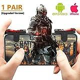 Teepao Mobile Game Controller für pubg–[9.0Neueste Upgrade] empfindliche Shoot Fire und Ziel-L1R14Finger Control für Messer Out/pubg/Rules of Survival für Android iPhone