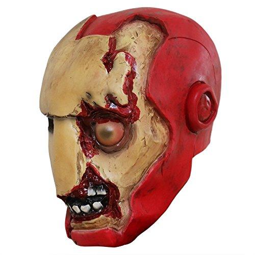 yacn Creepy Spoof Eisen Mann Maske Kostüm, 2018 -