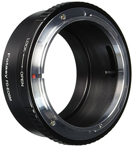 Fotasy Canon FD FL Lens to CANON EOS M EF-M Mount Mirrorless Camera Adapter  available at amazon for Rs.2512