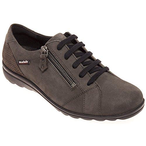 Mephisto  Camilia 6903/12703 Grey, Chaussures de ville à lacets pour femme Gris