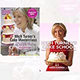 Mich Turner Cake Books Collection 2 Books Bundle (Mich Turner's Cake School: Expert Tuition from the Master Cake Maker,Mich Turner's Cake Masterclass: The Ultimate Guide to Cake Decorating Perfection)