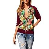 Mode Damen Solide Strickjacke mit offener Vorderseite Langarm Blazer Freizeitjacke