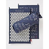Midnight Blue Hemp Acupressure Massage Mat with carry-bag preisvergleich bei billige-tabletten.eu