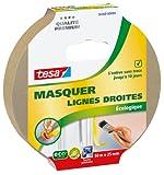 Tesa 56460-00004-00 Masquer Lignes Droites Ecologique 50 m x 25 mm