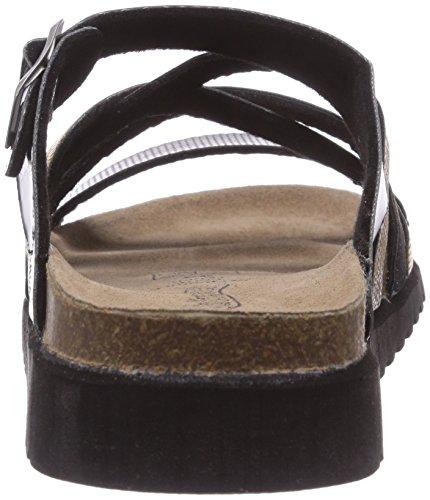 Softwaves 274, Chaussures de Claquettes femme Noir - Schwarz (black multi 097)