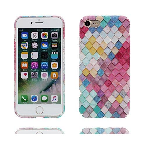 iPhone 6 Plus Copertura Cover, Durevole Shell TPU per le ragazze iPhone 6 Plus / 6S Plus Custodia Case 5.5 A prova di polvere - vulcanico # 1