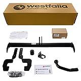 Westfalia Starre Anhängerkupplung für C3 Picasso (ab BJ 03/09) im Set mit 13-poligem fahrzeugspezifischen Elektrosatz