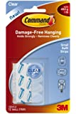 Command Small Refill Strips, Clear, 12-Strip