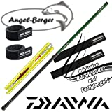 Daiwa Sweepfire Stippset Stipprute mit Angel Berger Rutenband (5,00m)