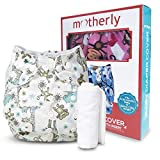 Motherly Washable Baby Cloth Diaper Cover Waterproof Cartoon Nappy (Pattern-D08)