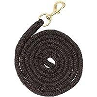 Trenzado PP–Cuerda de guía para caballos, negro