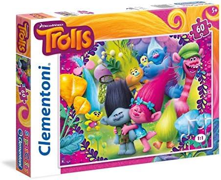CleHommes toni - 26958.7 - Puzzle - Trolls - 60 Pièces | à Bas Prix