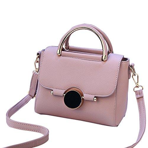 SUNNSEAN Tasche, Damen Mode Taschen Geldbörsen Schulter Handtasche für Frauen Umhängetaschen Bag Daypacks (Helles Lila)