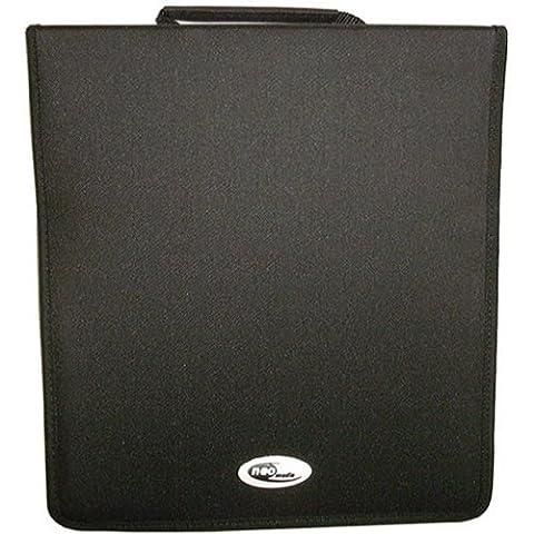 Four Square Media 1 X Neo médias 500 Capacité CD DVD Ring Binder portefeuille étui de transport en nylon de stockage