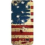 Casotec USA Flag Design Hard Back Case Cover for Huawei Honor 4C