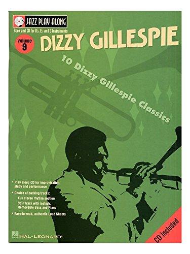 Jazz Play Along: Volume 9 - Dizzy Gillespie. Partitions, CD pour Instruments À Bb, Instruments À C, Instruments À Eb