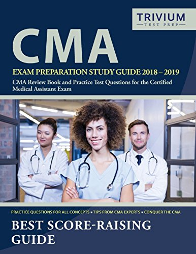cma exam preparation study guide 2018 2019 cma review book and practice test questions for the certified medical assistant exam cma exam prep team on amazon