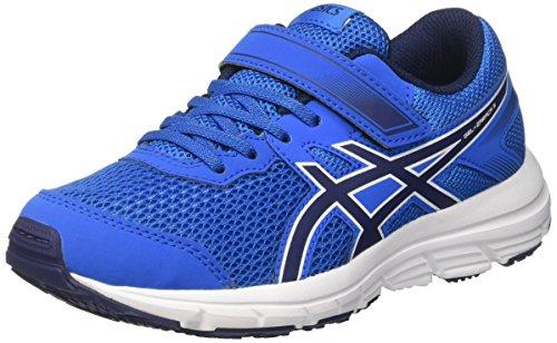 Asics Gel-Zaraca 5 Ps, Chaussures de Course pour Entraînement sur Route Mixte Enfant Bleu (Electric Blue/indigo Blue/white)