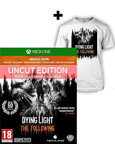Dying Light: The Following Enhanced [AT uncut Edition] + T Shirt (L) - XBox One