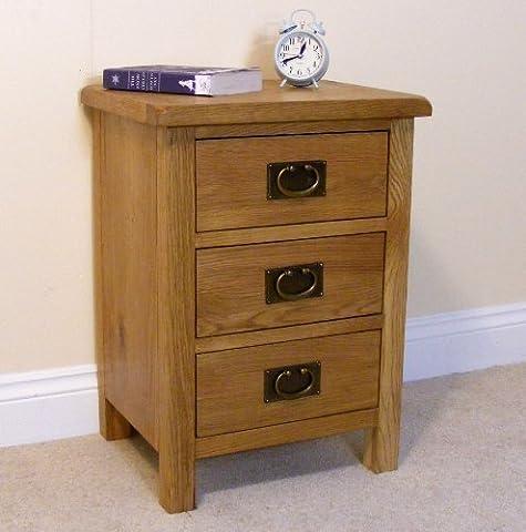 Lanner Oak Bedside Table