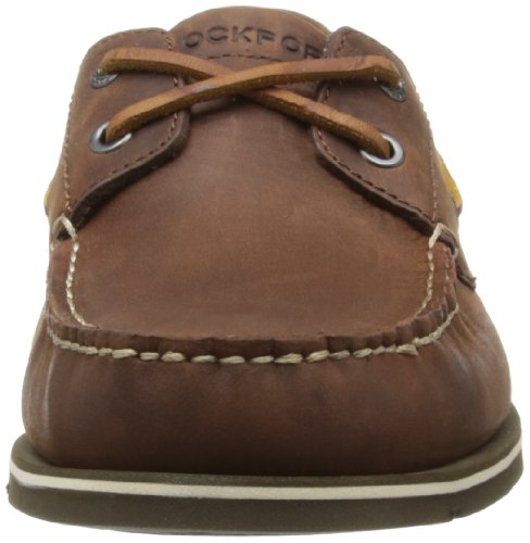 Rockport SUMMER TOUR 2 EYE B BRITISH TAN V77724 Herren Bootsschuhe Braun (Tan)