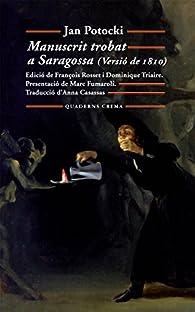 Manuscrit trobat a Saragossa par Jan Potocki