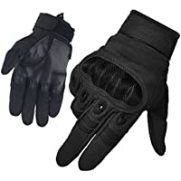 FreeMaster Men's Full Finger Outdoor Sports Working Gloves Hunting Motorcycle Bike Cycling Climbing Cross Country Skiing Gloves