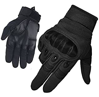 HASAGEI Large Black FreeMaster Men's Full Finger Work Touch Screen Protective Bike Cycling Gloves, L (B0190M644Y) | Amazon price tracker / tracking, Amazon price history charts, Amazon price watches, Amazon price drop alerts