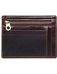 Amazon.it  Portafogli Con Cerniera - Porta carte di credito   Porta ... 22136c9dbf9