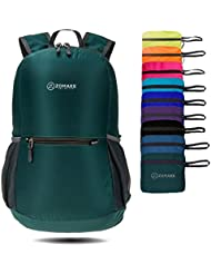 ZOMAKE Ultra Lightweight Packable Backpack Water Resistant Hiking Daypack,Small Backpack Handy Foldable Travel Outdoor Backpack