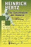 Die Constitution der Materie: Eine Vorlesung über die Grundlagen der Physik aus dem Jahre 1884