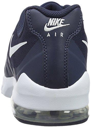 Nike Air Max Invigor, Baskets Mixte Adulte Blau/Weiß (Midnight Navy/White)